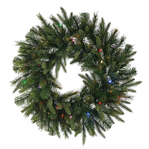 60 Wreath With Led Lights in US - 8