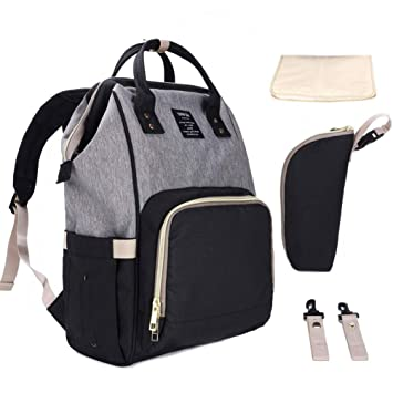 Hiday Set de bolsos para mamá - Bolso para pañales + Colcha para ...