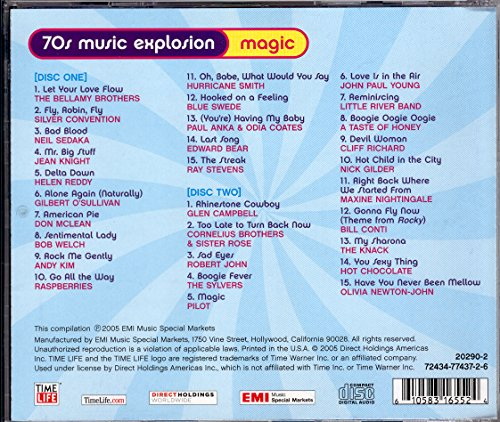 70s Music Explosion Volume 4 Magic 2 CD Set UK Import Amazoncouk