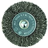 3'' Diameter-1/4'' Shank-0.014'' Wire - Cup Brush (Pack of 5)