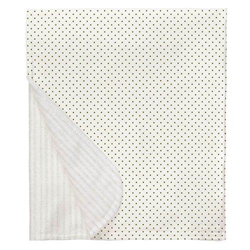 Sage Pin Dot - Carousel Designs Sage Pin Dot Mini Crib Blanket