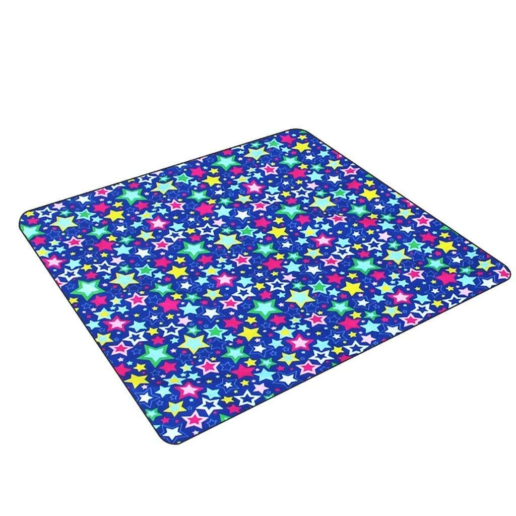 ZKKWLL Picnic Blanket Picnic Blanket Folding Picnic Blanket Waterproof Backing Travel Picnic Rug Outdoor Beach Camping Beach mat (Color : D) by ZKKWLL