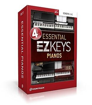 ToonTrack Toontrack EZkeys Essential Pianos - Paquete informático para tocar el piano virtual: Amazon.es: Instrumentos musicales