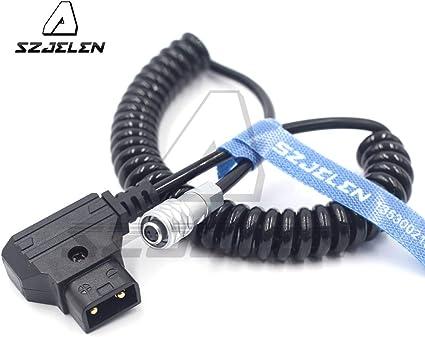 Alvins Cables BMPCC 4K a D-Tap Cable de alimentaci/ón para Blackmagic Pocket Cinema C/ámara 4K Gold Mount V Mount Battery Weipu 2 Pin Hembra a P Tap