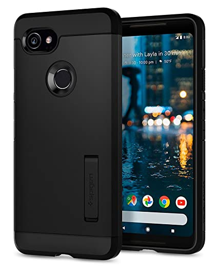 various colors 1d2a3 0f418 Spigen Tough Armor Designed for Google Pixel 2 XL Case (2017) - Black