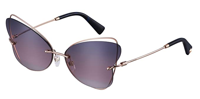 Valentino Gafas de Sol BUTTERFLY VA 2031 ROSE GOLD/BLUE PINK ...