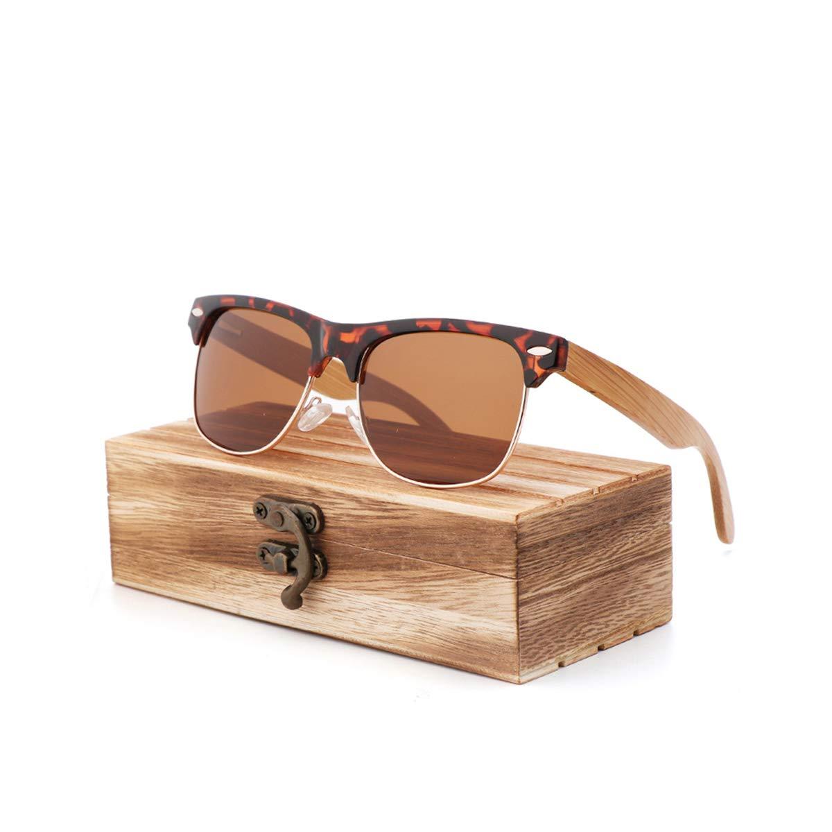 RTGreat NEW Explosion PC Frame + Bamboo Leg Sunglasses Gafas ...