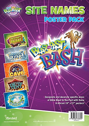 Read Online Site Names Poster Pack (Vacation Bible School 2015: Bible Blast to the Past—Discover God's Everlasting L) ebook