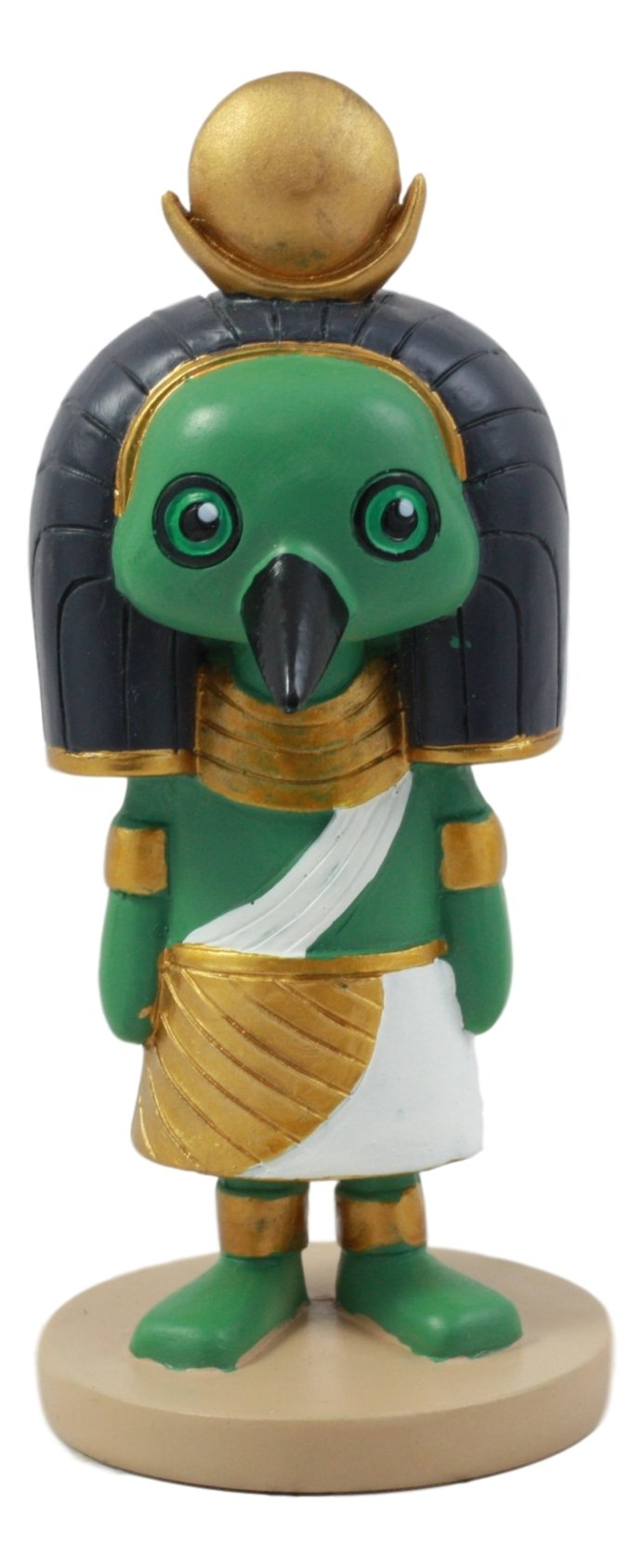 Ebros Egyptian God Of Technology And Wisdom Ibis Thoth Figurine 4''H Dollhouse Collectible