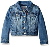 Levi's Little Girls Denim Trucker Jackets,Nirvana,6X