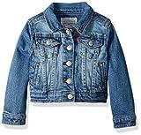 Levi's Little Girls Denim Trucker Jackets,Nirvana,6X