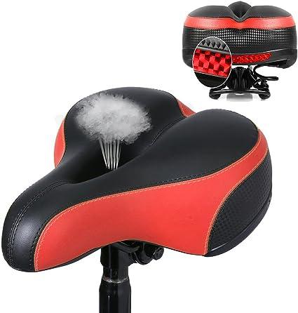 OUTERDO Bike Seat MTB Bike Saddle Dual Spring Comfort Bicycle Saddle Road Bike