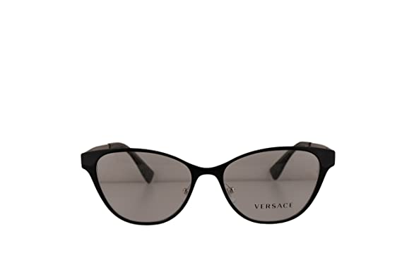 fd56b954d70 Image Unavailable. Image not available for. Color  Versace VE1245 Eyeglasses  53-16-140 Black Silver Glitter w Demo ...
