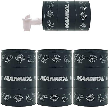 Mannol 3 X 60 Liter Garagenfass Ausgießer 7715 5w 30 Acea C3 Norm 504 00 507 00 Longlife Auto