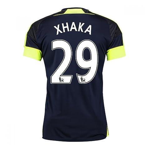 7033ba8b2 Amazon.com   UKSoccershop 2016-17 Arsenal Third Shirt (Xhaka 29 ...