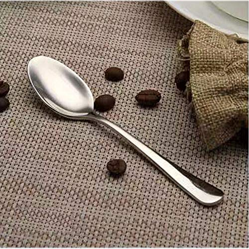 Demitasse Espresso Spoons Set of 8, Mini Coffee Spoon, 18/10 Stainless Steel Small Spoons for Dessert, Tea, Appetizer, 4.7