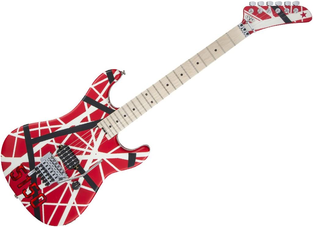 EVH Striped Series 5150 R/B/W · Guitarra eléctrica: Amazon.es ...