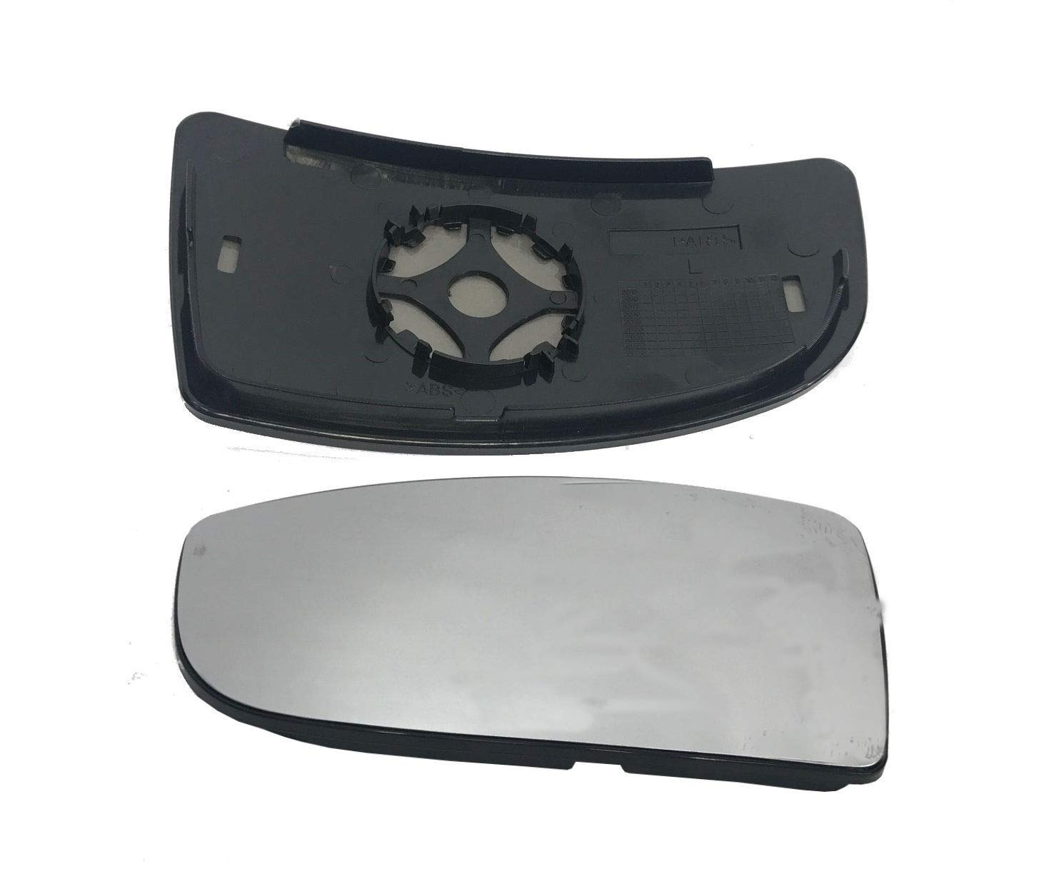 MASO Wing Mirror Glass Sprinter Wing Mirror Upper Large Glass PUSH On Left Passenger Side N/S
