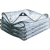 Lonas Impermeables Exterior para Piscinas 0.3MM PVC Transparente Cobertizo Impermeable/Lona/Plantas Hojas de Polvo…