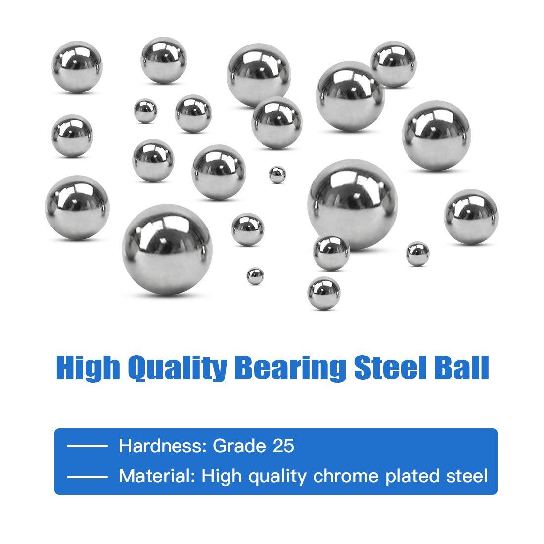50 PCS 304 Stainless Steel Loose Bearing Balls G100 Bearings Ball 3.5mm