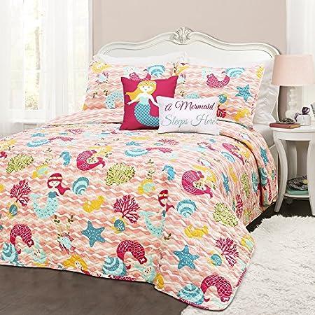 61Hn6ZnV%2BeL._SS450_ Mermaid Bedding Sets and Mermaid Comforter Sets