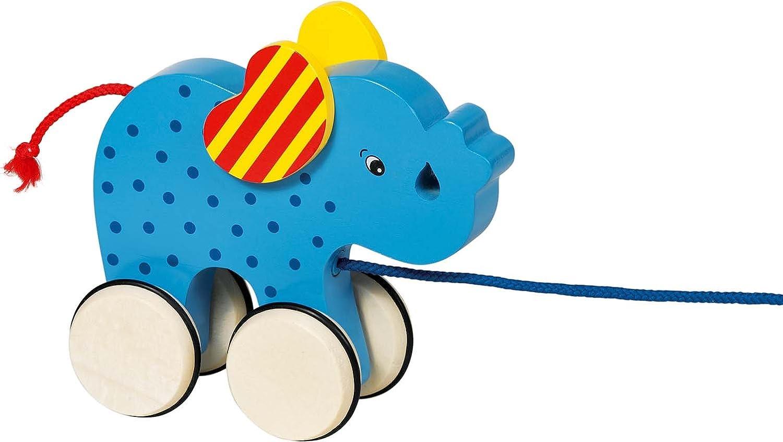 Goki Elephant Basjo Pull Along Toy