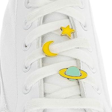 Ciondoli per lacci delle scarpe, con targhetta per scarpe