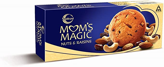 Sunfeast Mom's Magic Nuts and Raisins, 60g