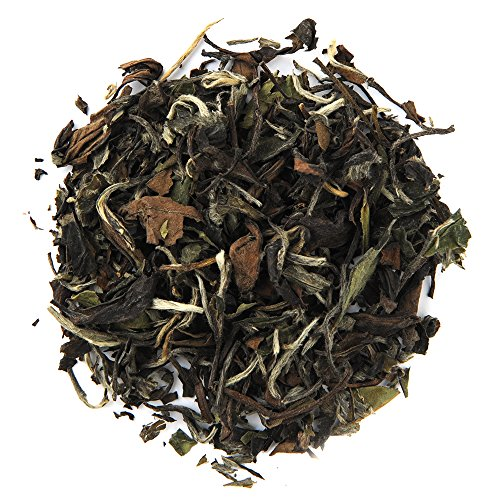 Positively Tea Company, Organic White Peony, White Tea, Loose Leaf, USDA Organic, 1 Pound Bag ()