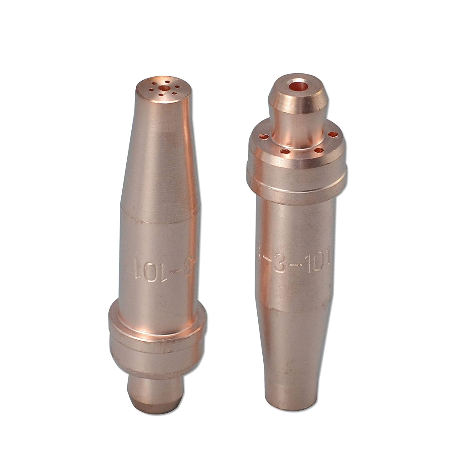 2pcs 3-101 Size #3 Acetylene Cutting Tip Fit For Victor Oxyfuel Torch RIVERWELDstore