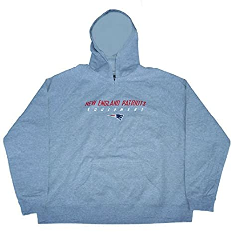 f85eb533390 Image Unavailable. Image not available for. Color  New England Patriots  Equipment Women s Size 3X-Large 3XL Hooded Pullover ...