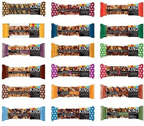 Kind Bars - 18 Bar Variety Pack - 18 Flavors by KIND