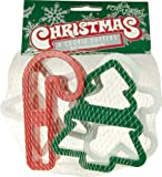 Fox Run 2091 Christmas Cookie Cutter Set, 4-Inch, Plastic, 4-Piece