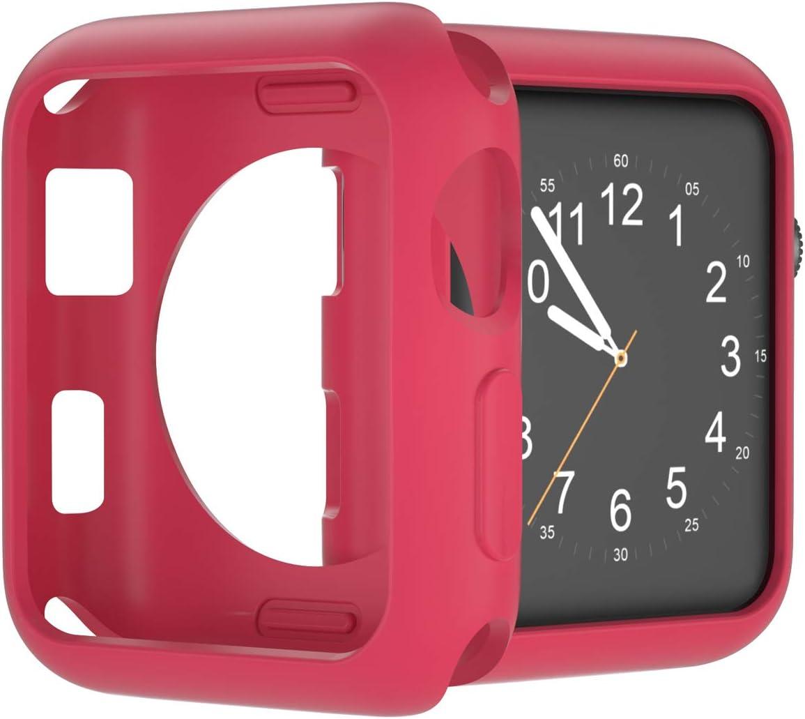 Funda para on Apple Watch Case 38 mm 42 mm 40 mm 44 mm Rosa