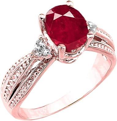 DTJEWELS 1.35 Ct Round Cut Cubic Zirconia Diamonds Cross Pendant 18 Chain 14K Rose Gold Plated 925