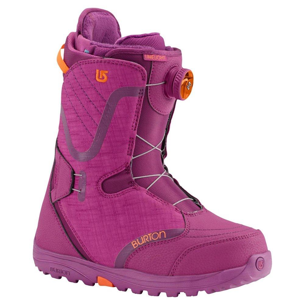 Burton Limelight BOA Snowboard Boots - Tropical Berry, Women's 8