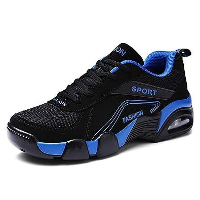 Sportschuhe Herren Atmungsaktiv Sneaker Luftpolster Turnschuhe Leichte Laufschuhe  Basketballschuhe Outdoor Trekkingschuhe 89e6bcda1e