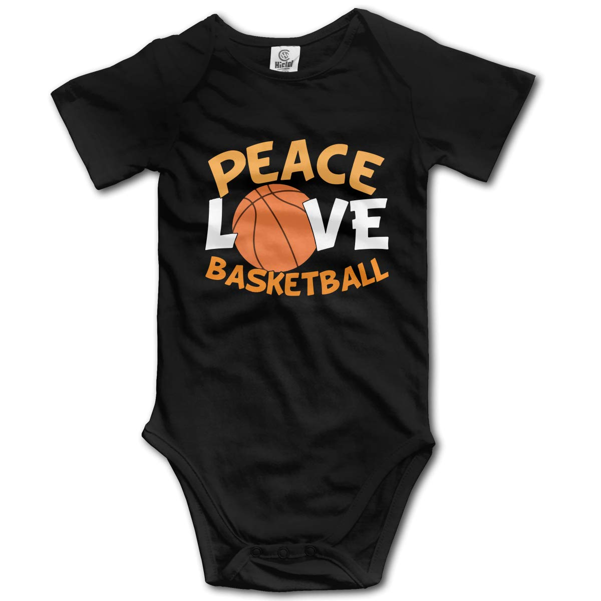 Love Basketball Suit 6-24 Months Baby Short Sleeve Climbing Clothes