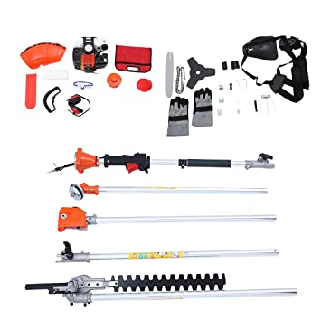 52cc Long Pole Chainsaw Brush Cutter Jardin Outil 5 En 1 ...