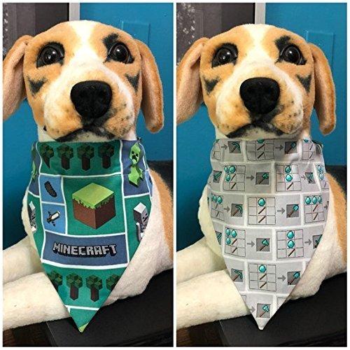 Amazon com: Reversible Over The Collar Pet Bandana Scarf
