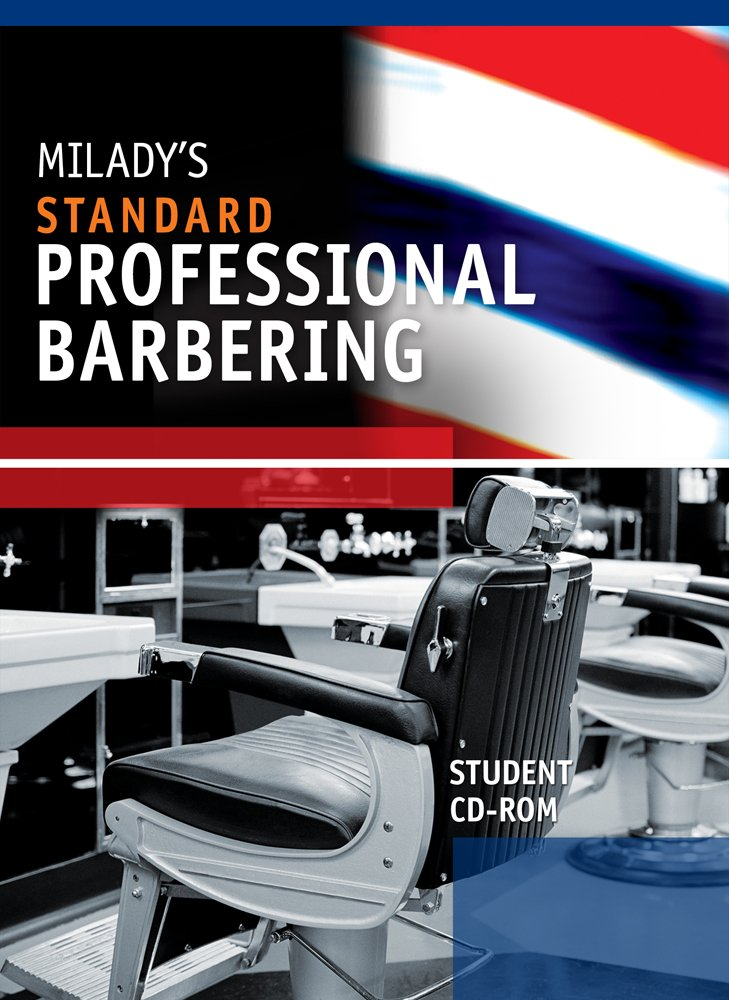 Student CD for Milady's Standard Professional Barbering by Brand: Milady