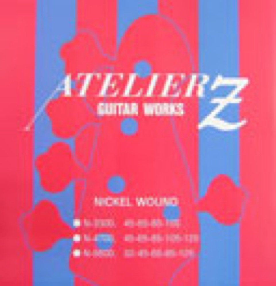 ATELIER Z N-5600 NICKEL WOUND BASS STRINGS 6弦エレキベース弦×3セット   B015MY7HD6