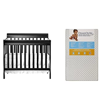 Superior Dream On Me 4 In 1 Aden Convertible Mini Crib With Dream On Me 3 Portable