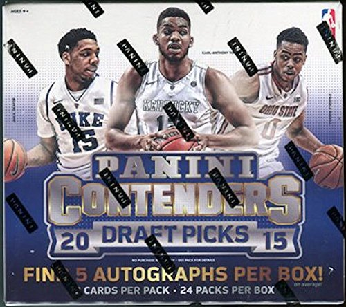 2015/16 Panini Contenders Draft Picks NBA Basketball HOBBY box (24 pk) ()