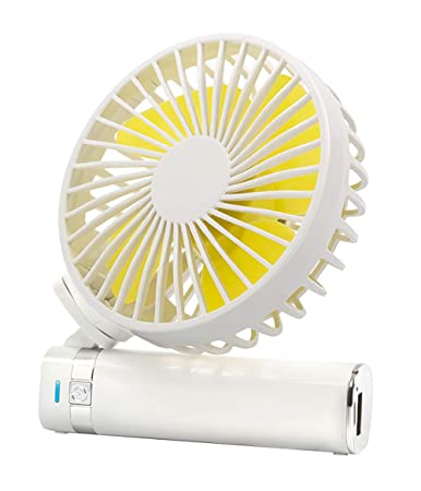Handheld Electric USB Fans Mini Portable Outdoor Fan with Rechargeable 1500 mAh Handle Desktop-for Home and Travel