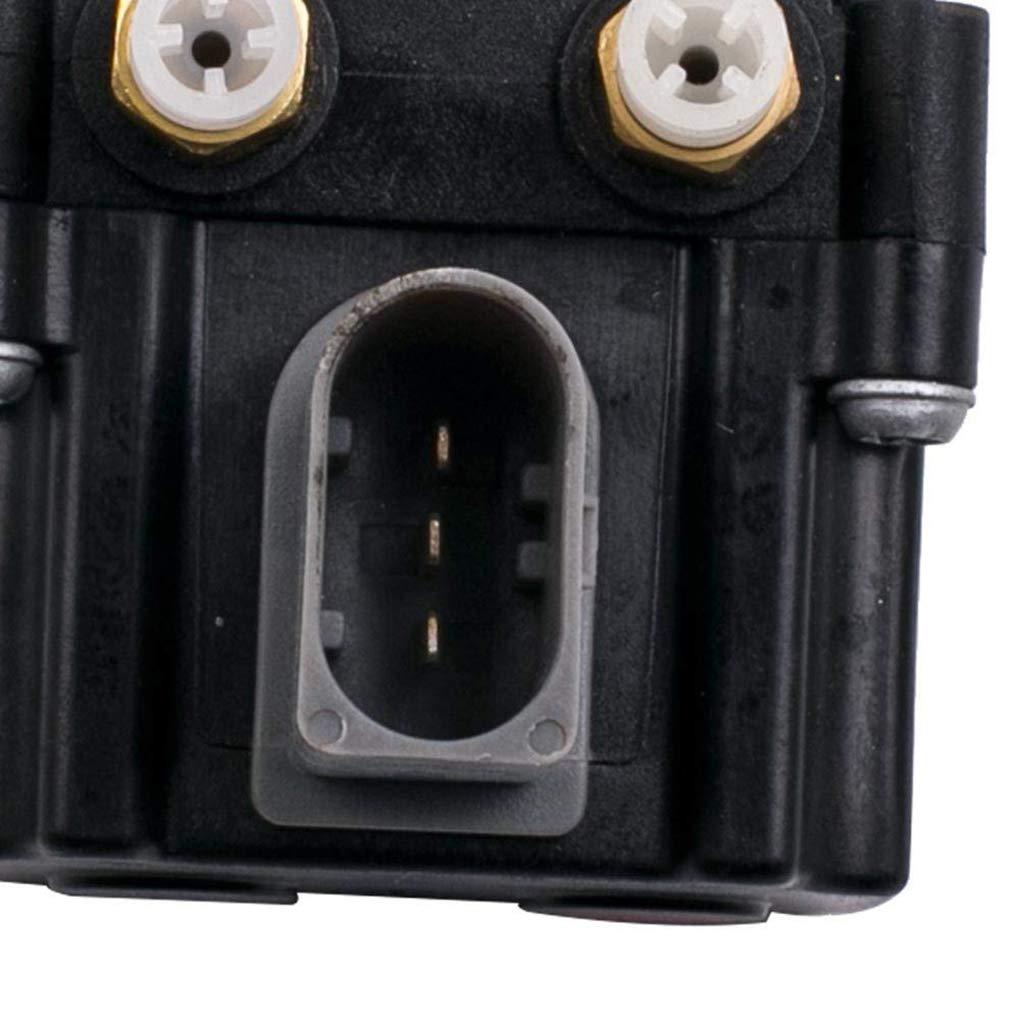 LafyHo Convient pour X5 E70 E61 06-13 PR Suspension pneumatique Electrovanne Bloc ABS 37206789937