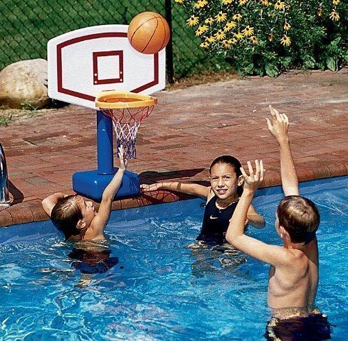 (Swimline Jammin Poolside Swimming Pool Basketball Game)