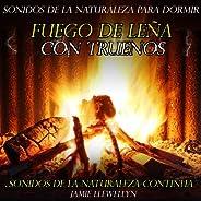 Sonidos de la Naturaleza para Dormir: Fuego de Leña Con Truenos