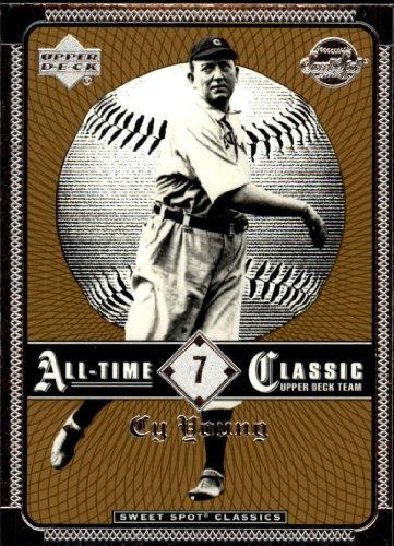 2002 Sweet Spot Classics Baseball Card #7 Cy Young