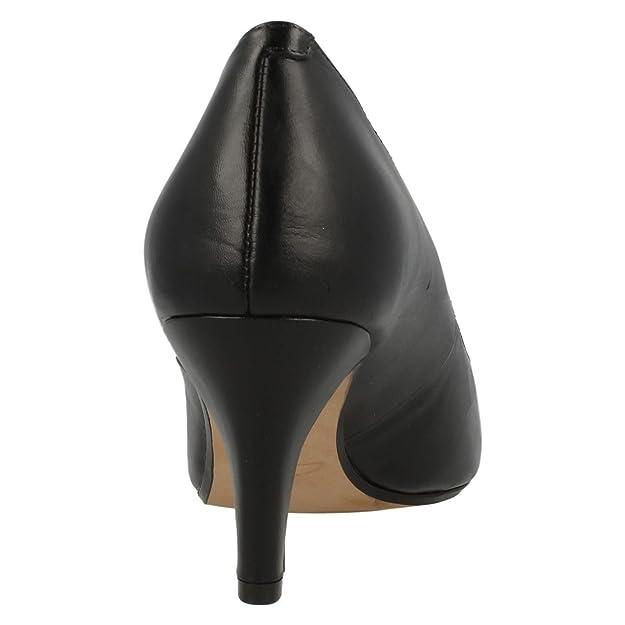 Clarks Marca Talon Modelo À Color Chaussures Noir rER6Xrx